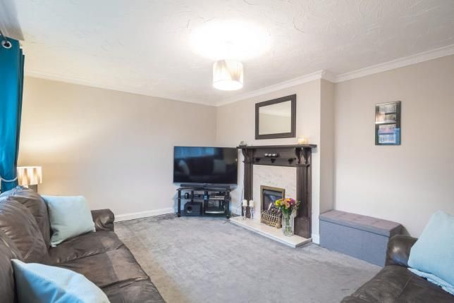 Lounge of Canmore Crescent, Greenock, Inverclyde PA16