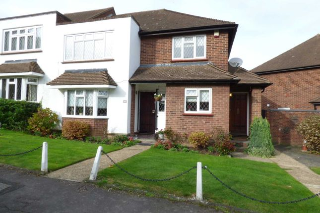 Thumbnail Flat for sale in Warren Court, Chigwell