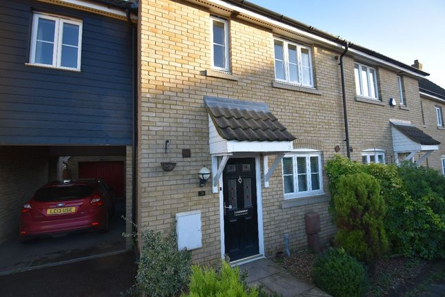 Terraced house for sale in Brickfields Drive, Haverhill