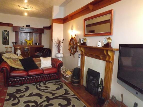 Lounge of Marine Terrace, Criccieth, Gwynedd LL52