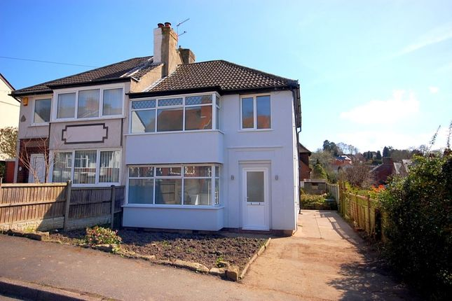 Thumbnail Semi-detached house for sale in Derwent Avenue, Milford, Belper