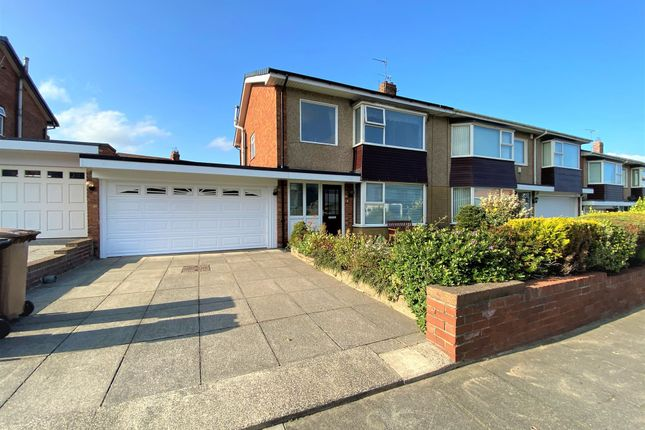 Thumbnail Semi-detached house for sale in Abbey Drive, Tynemouth, North Shields