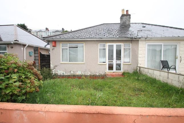 Thumbnail Semi-detached bungalow for sale in Laira Park Crescent, Plymouth