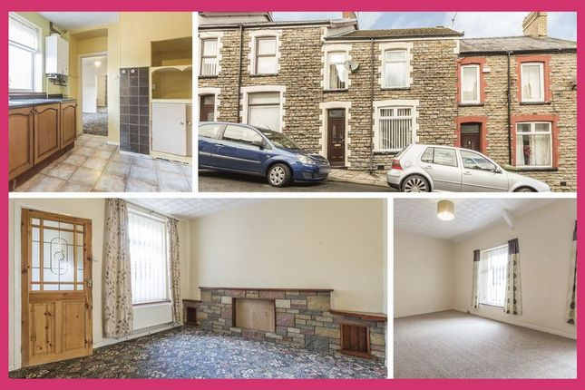 Thumbnail Terraced house for sale in Duffryn Street, Pontlottyn, Bargoed