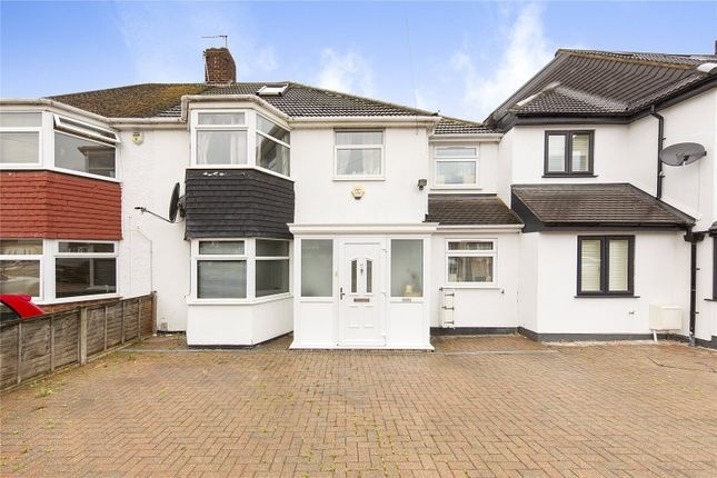 Thumbnail Terraced house for sale in Cheriton Avenue, Ilford