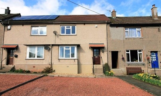 Thumbnail Terraced house for sale in Queens Row, Greenlaw