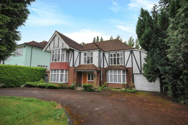 Thumbnail Detached house for sale in Meadow Way, Chigwell, Essex