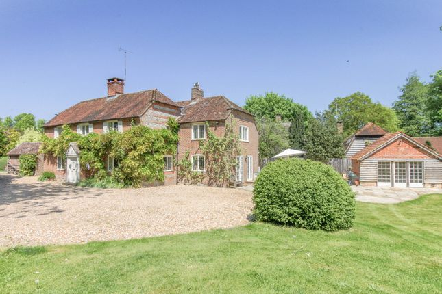 Thumbnail Detached house for sale in Nether Wallop, Stockbridge, Hampshire