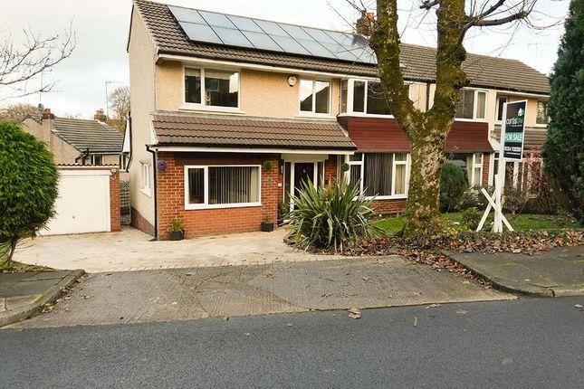 Thumbnail Semi-detached house for sale in Warmden Avenue, Baxenden, Accrington