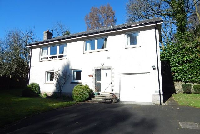 Thumbnail Detached house for sale in Windyknowe Road, Galashiels
