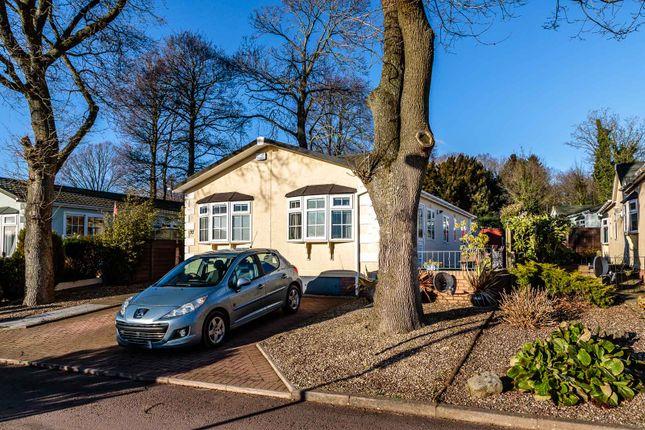 Thumbnail Detached bungalow for sale in Clanna Country Park, Alvington, Lydney