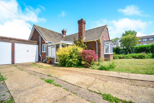 Thumbnail Bungalow for sale in Tumulus Road, Saltdean, Brighton