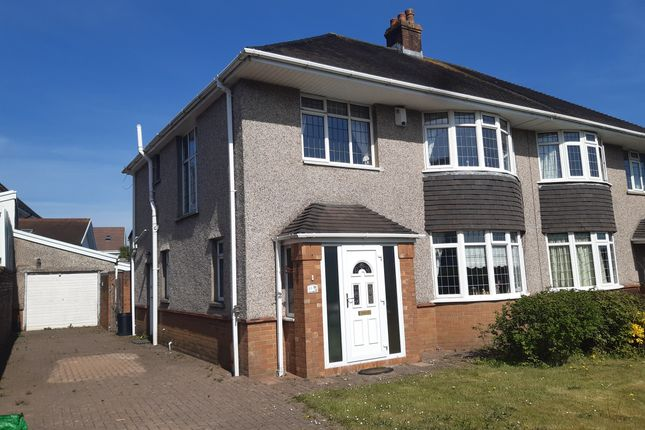 4 bed semi-detached house for sale in Saunders Way, Sketty Swansea SA2