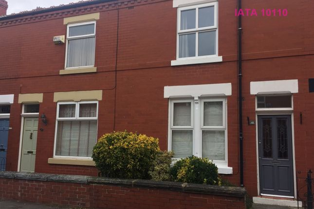 Thumbnail Terraced house to rent in New Hey Road, Cheadle