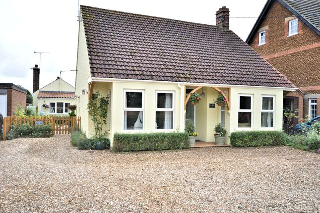 Thumbnail Detached bungalow for sale in Collins Lane, Heacham, King's Lynn