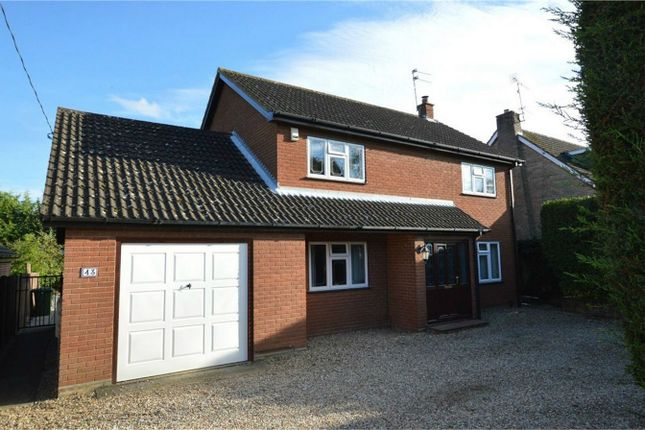 Thumbnail Detached house for sale in Ashtree Road, New Costessey, Norwich
