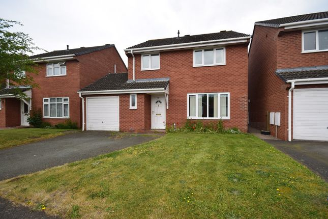 Thumbnail Detached house for sale in Barleyfields, Wem, Shrewsbury
