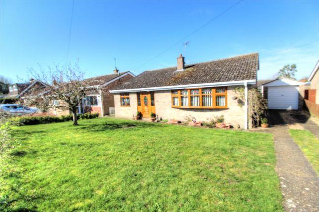 Thumbnail Detached bungalow for sale in 42 Kerridges, East Harling, Norwich, Norfolk