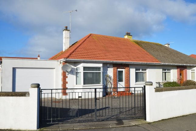 Thumbnail Semi-detached bungalow for sale in 8 North Drive, Girvan