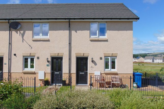 Thumbnail End terrace house to rent in Russell Way, Bathgate