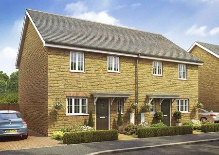 3 bed semi-detached house for sale in The Tredington, The Homelands, Bishops Cleeve, Cheltenham