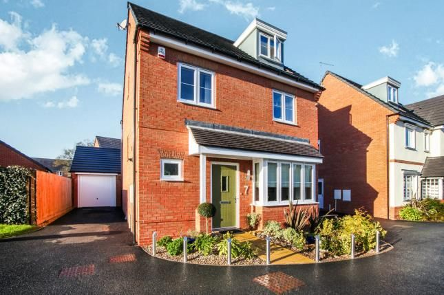 Thumbnail Detached house for sale in House Yard Close, Crewe, Cheshire