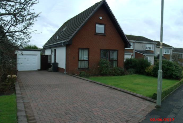 Thumbnail Detached house to rent in Garvel Road, Milngavie