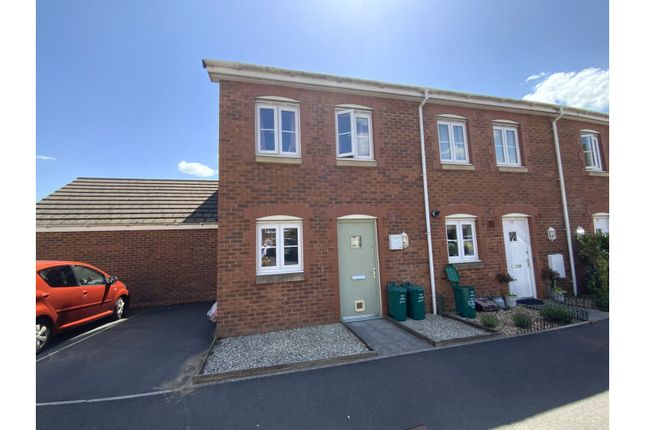 Thumbnail End terrace house for sale in Heol Gruffydd, Pontypridd