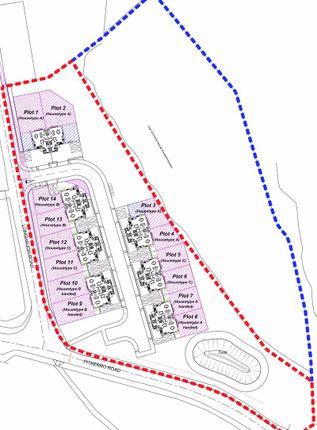 Site Plan of Dighty Estates, Longhaugh Development, Dundee DD4