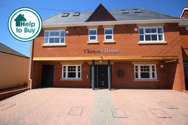 Thumbnail Flat to rent in Clarence Road, Fleet, Hampshire