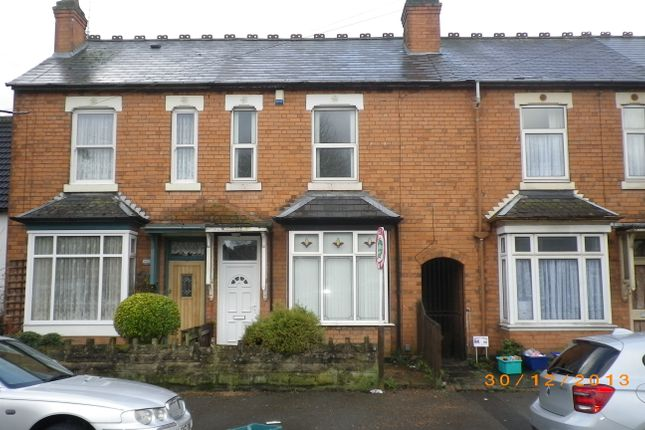 Thumbnail Terraced house to rent in Waterloo Road, Yardley