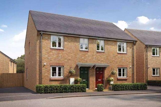 Thumbnail Semi-detached house for sale in The Ashton, Thorney Meadows, Thorney, Peterborough