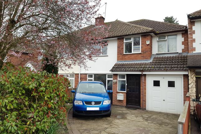 Thumbnail Semi-detached house for sale in Monks Road, Binley Woods, Coventry