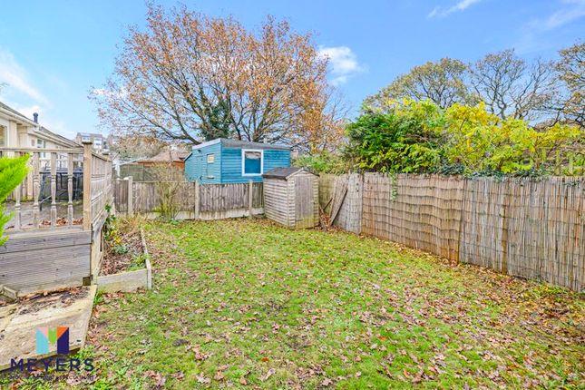 Rear Garden 2 of Hamble Road, Oakdale, Poole BH15
