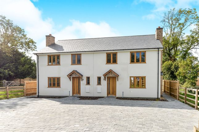 Thumbnail Semi-detached house for sale in Station Road, Steeple Morden, Royston