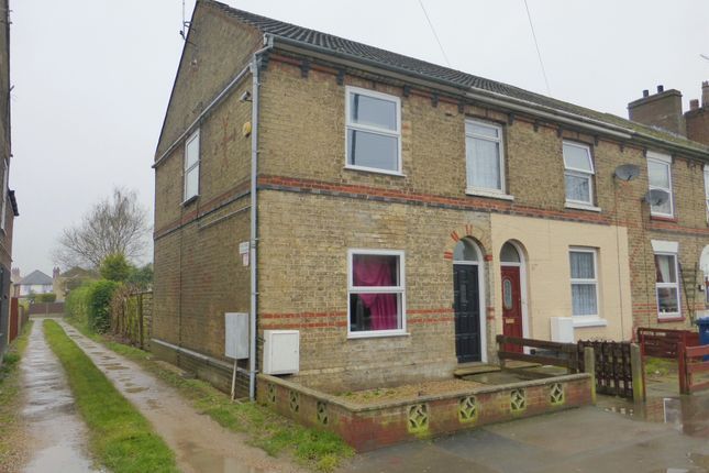 Thumbnail End terrace house for sale in Station Road, March