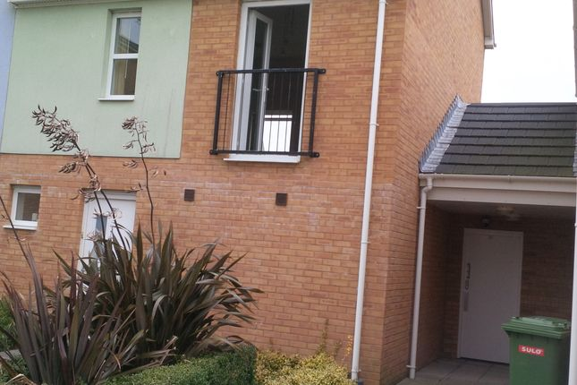 Thumbnail Semi-detached house to rent in Mill Meadow, North Cornelly