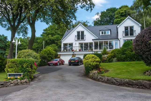 Thumbnail Detached house for sale in Silver Spinney, Manor Road, Madeley, Cheshire