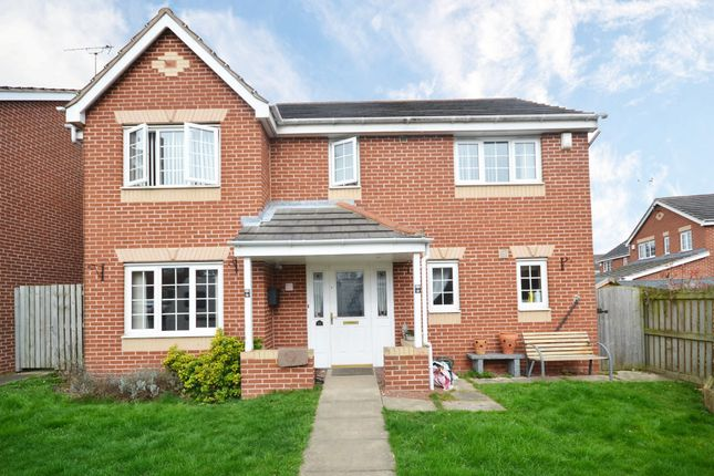 Thumbnail Detached house for sale in Troon Close, Normanton