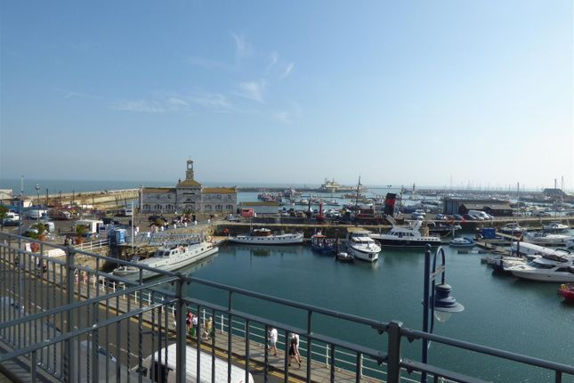 Thumbnail Flat to rent in Harbour Parade, Ramsgate