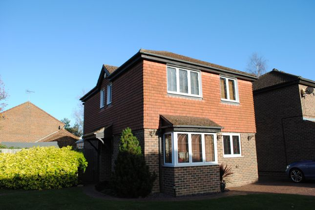 Thumbnail Detached house to rent in Highland Drive, Fleet