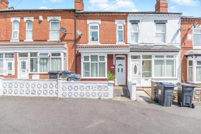 Thumbnail Terraced house for sale in Grove Road, Sparkhill, Birmingham, West Midlands
