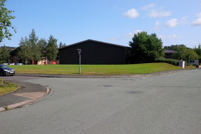 Thumbnail Land for sale in Land Adjoining Unit 66, Mochdre Industrial Estate, Newtown