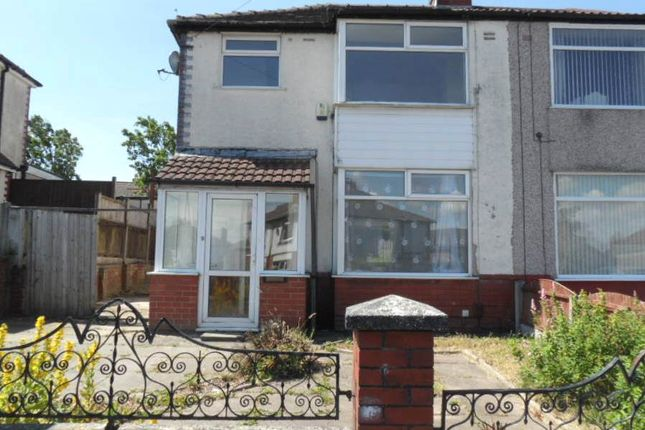 Thumbnail Semi-detached house to rent in Briarfield Road, Farnworth, Bolton