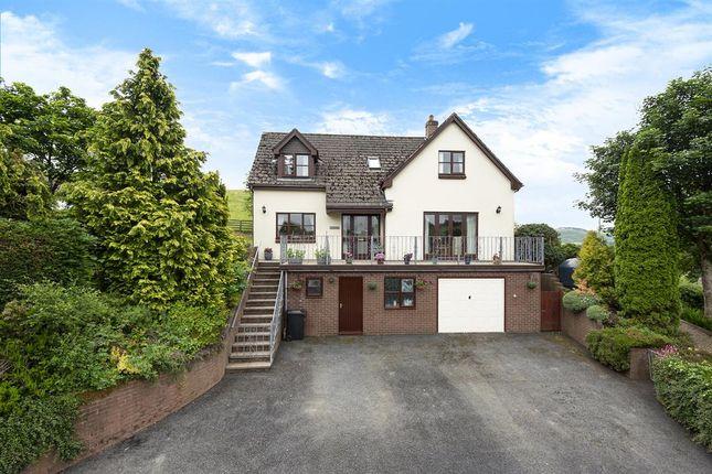 Thumbnail Detached house for sale in Franksbridge, Llandrindod Wells
