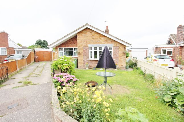Thumbnail Detached bungalow for sale in Meadow Rise, Hemsby