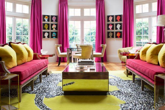 Thumbnail Maisonette to rent in Academy Gardens, Duchess Of Bedford's Walk, Kensington, London