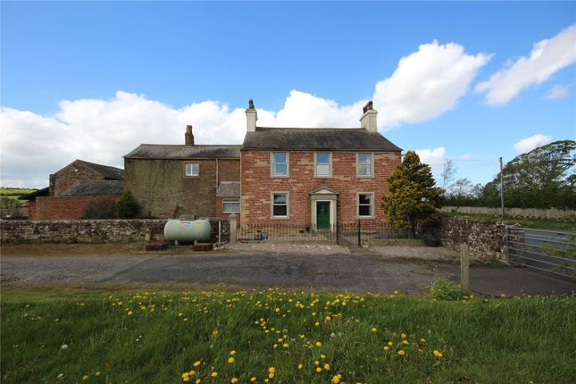 Thumbnail Detached house for sale in Wigton