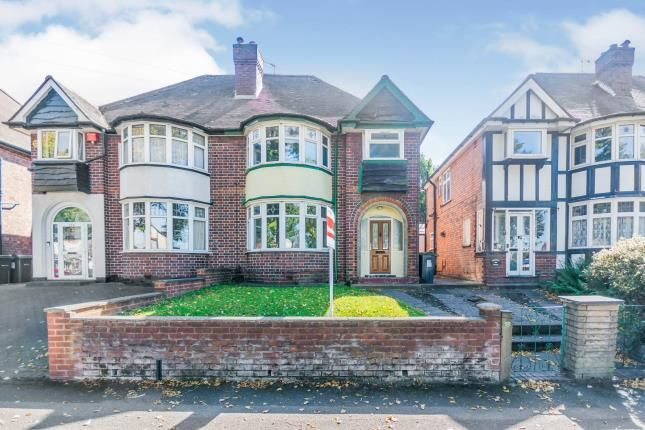 Thumbnail Semi-detached house for sale in Stockfield Road, Yardley, Birmingham, West Midlands