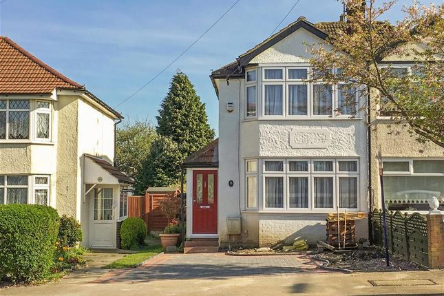 Thumbnail Semi-detached house for sale in Hook Lane, Welling, Kent